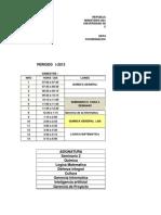 Horarios v Ing Sistemas 2-2013