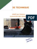 Guide Technique Travaux Proximite