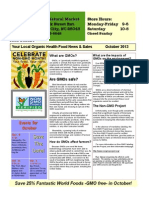 October Plum Natural Newsletter