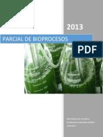 Parcial I [Bioproceso[Semestre IX]]