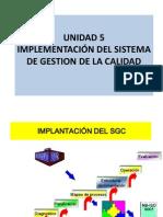 Unidad 5 Sgc e Implementacion Obj, Poli