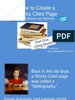 How to Cite Books