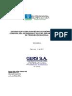 Estudio de factibilidad técnico económica de conexión al SIN - Meta