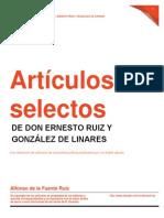 Artículos selectos de D. Ernesto Ruiz y González de Linares