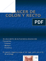 Cancer Colon y Recto