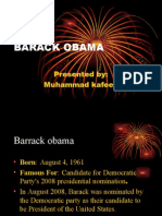 Presentation on Barack Obama