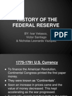 history of federal reserve