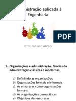 01 Organizacoes E Administracao