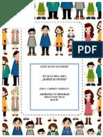 Proiect tematic Băieti și fetițe - Carmen Nedelcu