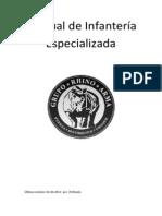 Manual de infantería especializada