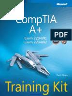 Comptia a Training Kit Exam 220-801 and Exam 220-802