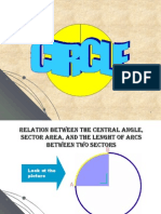 Relation Between Central Angle