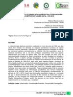 Abertura Econômica e Concentração Produtiva e Populacional na Região Metropolitana de Natal 1990-2010