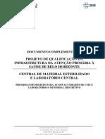 Documento Complementar 06 CME e Laboratorio Central
