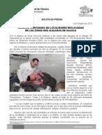 01/10/13 Germán Tenorio Vasconcelos RECORRE CARAVANAS 480 LOCALIDADES ENCLAVADAS EN LAS ZONAS MÁS ALEJADAS DE OAXACA