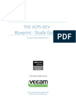 The Vcp5 Dcv Blueprint Studyguide Veeam Color