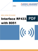 RF Interfacing With 8051 Friendly