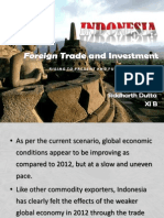 Foreign Trade and Investment in Indonesia