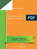 Franciszek Grucza - Lingwistyka Stosowana