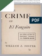 Crime of el Fanguito