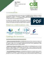 Catálogo de Servicios 300913