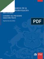 Libro, Informe de avance de la Agenda de Modernización del Estado[1]