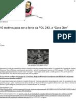 """10 motivos para ser a favor da PDL 243, a """"Cura Gay"""" _ ACID BLACK NERD"""