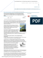 Fire Protection Engineering and Sustainable Design _ Fire Protection Design Content From Fire Protection Engineering