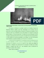 LOS RESTOS DEL BUQUE SARASTONE SON DECLARADOS ZONA ARQUEOLÓGICA