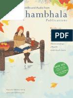 Shambhala Publications Catalog - Fall/Winter 2013