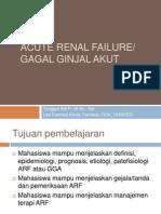 Farmakoterapi II Ginjal ARF