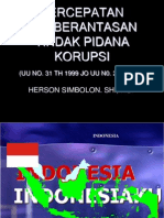 Pemberantasan Tindak Pidana Korupsi_herson