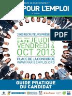 Paris Jobs Fair, 2013. Carrefour Pour Emploi