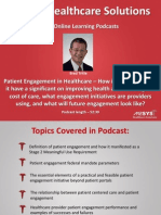 Patient Engagement in Healthcare Improves Health and Reduces Cost
