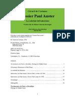 8964154 Auster Paul Gerard de Cortanze Dossier Paul Auster La Soledad Del Laber
