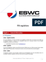 FIFA 13 Regulations
