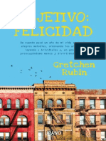 Objetivo Felicidad Gretchen Rubin