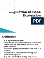 8. Regulation of Gene Expression
