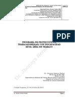 Programa Salud Ocupacional Discapacitados Octubre 2012[1]