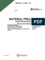 Manual Preliminar Del Participante Competencias Docentes
