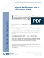 Greenhouse & Gas Emission