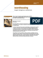 Health and Safety Chemical Warehousing