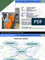 Pengoperasiaan Turbin Gas PLTGU Cilegon