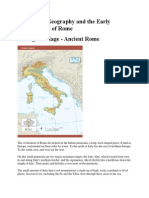 geography of rome text