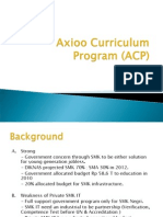 Contoh Axioo Curriculum Program Khusus SMK IT