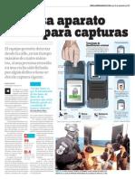 LPG20130930 - La Prensa Gráfica - PORTADA - pag 36 PDA en PNC patrullas