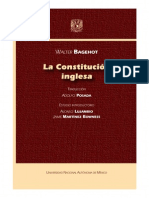 Bagehot, La Constitucion Inglesa, Caratula, d, PDF
