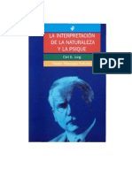 Carl Gustav Jung - La Interpretacion de La Naturaleza y La Psique