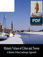 Historic Values of Cities and Towns