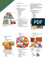 Leaflet Pola Makan DM